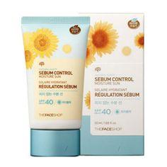 the face shop sebum control Sun Natural Eco