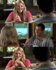 50 first dates! this is one of me and the lads favorite movie ever! just got to lovvvve
