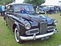 1953 Humber Super Snipe VI Drophead  (Engine 4138cc S6 OHV)This car was commisioned for the 1954 Coronation Tour of the Commonwealth by HM The Queen and HRH Prince Philip.