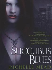 Really enjoyed Succubus Blues! It's quite different from Richelle Meads Vampire Academy series! Love it!