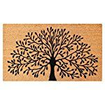 A1HC First Impression Shredding Tree FADE RESISTANT 24 in. x 36 in. Coir Flocked Door Mat