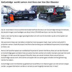 Samenwerking tussen Kees-Jan Van Der Klooster en GoCartridge
