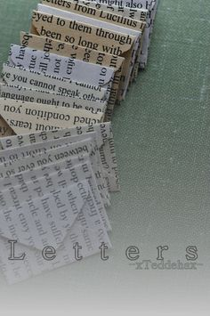 Letters Wattpad Story, Cover made by me -