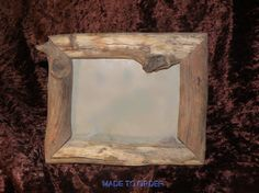 Natural log picture frame  made by Creatively Kustomized...kevin0420742@gmail.com