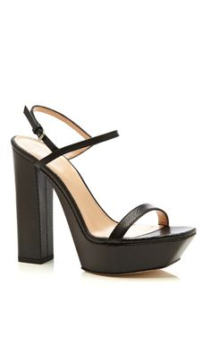 I so want these or a knock off that look just like them!  Cassandra Waxed Filesnake Pump by Calvin Klein Collection