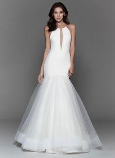 Tara Keely Halter wedding Dress | www.kleinfeldbridal.com
