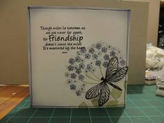 Cardio stamps Butterfly Cards, Flower Cards, Sympathy Cards, Greeting Cards, Cardio Cards, Image Stamp, Card Io, Some Cards, Homemade Cards