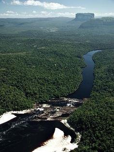 Río Caroní, Canaima  Venezuela