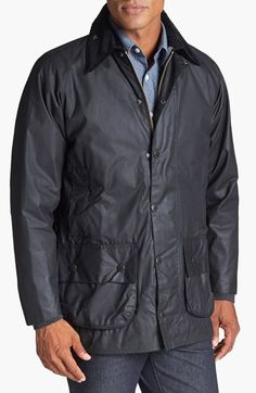 Barbour 'Beaufort' Weatherproof Waxed Relaxed Fit Jacket available at #Nordstrom