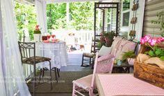 Far Above Rubies: Back porch living...