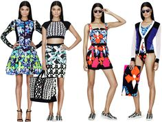 Peter Pilotto for Target Lookbook (FINALLY!) | THE STREETS ARE THE ...======================== RISING HOT DESIGNERS! Peter Pilotto -------------------------------- Timothy John Designs timothyjohndesign... semiprecious jewelry necklace earrings bracelets trendy luxurious handcrafted made in NYC USA~!