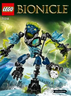 LEGO 71314 Storm Beast instructions displayed page by page to help you build this amazing LEGO Bionicle set Lego Bionicle Sets, Lego Worlds, Lego Moc, Lego Ninjago, Lego City, Best Part Of Me, The Hobbit, Legos, Beast