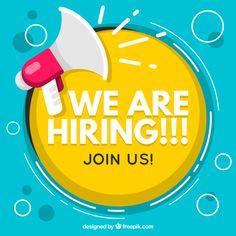 We are hiring background in flat style Free Vector Design Plat, Web Design, Logo Design, Office Assistant Jobs, Hiring Poster, Executive Jobs, We Are Hiring, Jobs Hiring, Event Poster Design