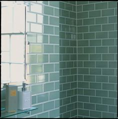 Bathroom. Bathroom design and decoration using light blue subway tile bathroom shower surround mounted wall clear glass shower shelving, Fancy Images of Bathroom Shower Surround for Bathroom Wall Decorations