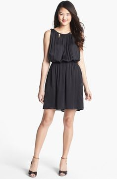 Kenneth Cole New York 'Cathleen' Tie Back Blouson Dress available at #Nordstrom