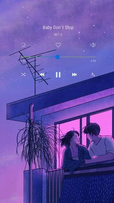 Super Ideas For Illustration Art Love Couple Kawaii Art And Illustration, Animes Wallpapers, Cute Wallpapers, Iphone Wallpapers, Aesthetic Anime, Aesthetic Art, Aesthetic Japan, Purple Aesthetic, Aesthetic Vintage