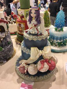 #christmas al cake design italian festival#cake#christmascake#cakedesign