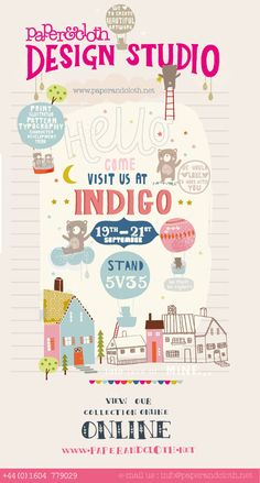 love print studio blog: Paper & Cloth at Indigo