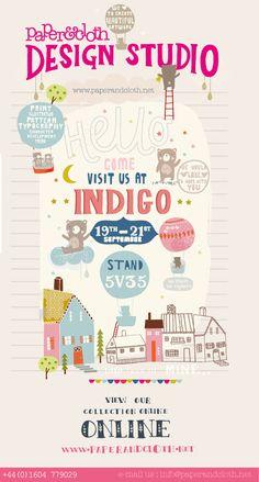 paper and cloth design studio eflyer sneak peek on loveprintstudio blog