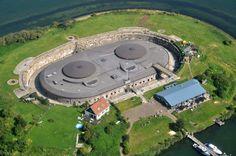 Superb Fort Island Pampus Holland