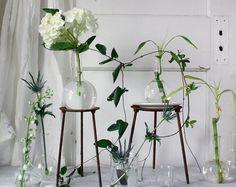 Vintage Lab Beaker Vase by shavingkitsuppplies on Etsy, $11.00