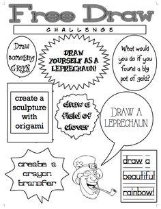 Free Draw Challenge: March
