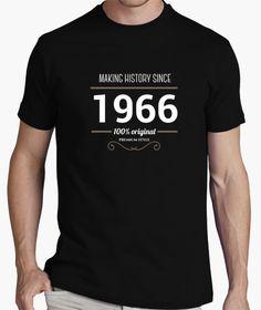 Camiseta Making history 1966 white text