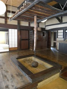 Traditional Japanese Interior.  My ojiichan's house was just like this.  :)