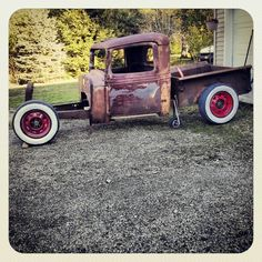 This little rat is all mine! `34 international pickup!! Im going to have a lot of fun building this nasty little toy!