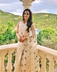 Saree and blouses Miss world Munisha Chillar in sheer saree Indian Saris Click Visit link above to r Indian Attire, Indian Wear, Indian Dresses, Indian Outfits, Saree Dress, Dress Up, Modern Saree, Desi Clothes, Miss World
