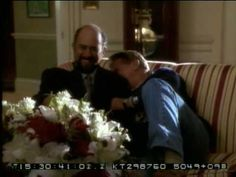 """The West Wing - Bloopers...Richard Schiff cracking up during the """"high on painkillers"""" scene is my favorite."""