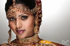 tamil bride portrait