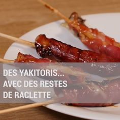Yakitoris Haus sandrine BROUILLET Raclette Ideen is part of pizza - Yakitoris maison Es ist noch besser! I Love Food, Good Food, Yummy Food, Tasty Videos, Food Videos, Fingerfood Party, Food Is Fuel, No Cook Meals, Finger Foods
