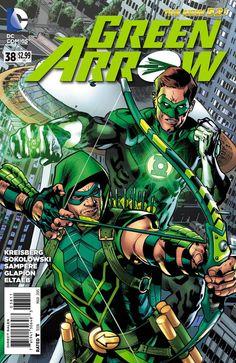 Green Arrow #38 by Bryan Hitch