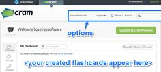 Free Website to Create Flashcards, with Apps for iOS, Android