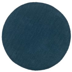 Vloerkleed Colours - petrol - Ø68 cm