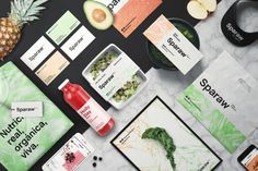 Sparaw, in Buenos Aires, sells cold-pressed juices and vegan food, using organic food from their orchard, and environmentally-friendly packaging.The Orchard The Orchard may refer to: Benefits Of Organic Food, Health Benefits, Brand Packaging, Packaging Design, Chefs, Vegan Food Brands, Organic Recipes, Vegan Recipes, Environmentally Friendly Packaging