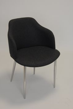 Glamour P Arm Chair - Base No. 4 - Four Tapered Steel Legs.