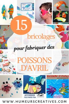 15 idées de bricolages pour fabriquer des poissons d'avril Toddler Learning Activities, Parenting Toddlers, Educational Activities, Crafts To Make, Fun Crafts, Tissue Paper Flowers, Peaceful Parenting, Toddler Art, April Fools
