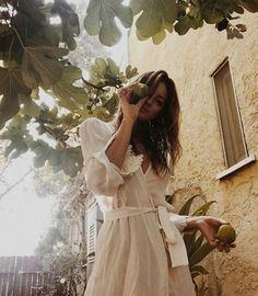 m File | White summer dress