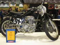 matchless motorcycles | OldMotoDude: 1964 Rickman Matchless G80CS 500cc at Vintage Motorcycle ...