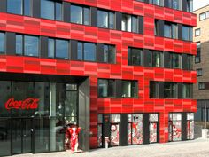 Sistemas de Fachadas | Oficinas centrales de Coca-cola en Berlin, fachada de terracota