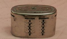 Vintage Automatic Recording Safe Co. The Reading Trust Co. Last Pat. 1918 #AutomaticRecordingSafeCo  $17.49 Free Shipping