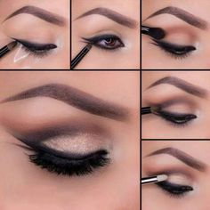 paso a paso de maquillaje para ojos