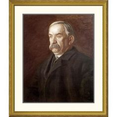 "Global Gallery 'Thomas Flaherty' by Thomas Eakins Framed Painting Print Size: 40"" H x 34.06"" W x 1.5"" D"