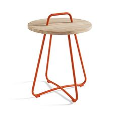 Orange or aqua 24h x 20w. 170$. Samba Side Table