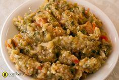 Μελιτζανοσαλάτα με πιπεριά Φλωρίνης - gourmed.gr