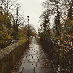 Chester walls on a November morning