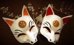 Nine tailed fox masks