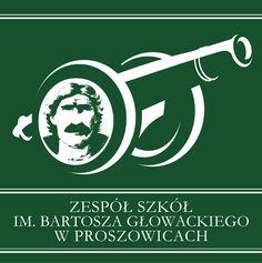 Projekt logo szkoły - wykonał uczeń klasy II
